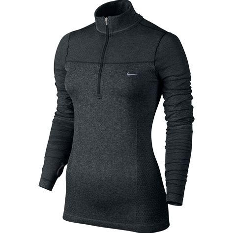 nike dri fit knit half zip wiggle nike dri fit knit sleeve half zip