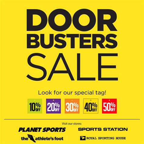 Door Busters by Map Active Door Busters Sale Up To 50