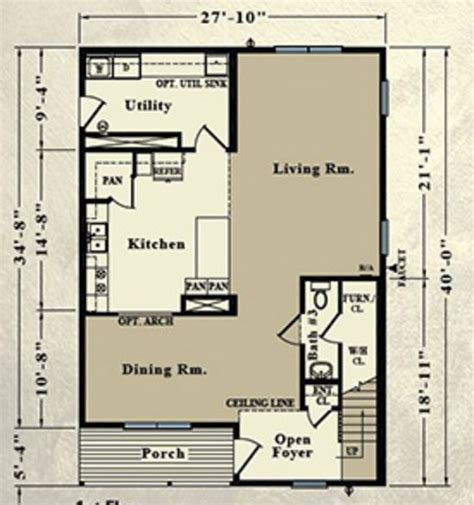 el paso 2077 square foot two story floor plan