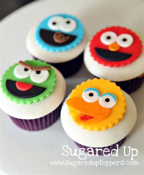 Easy Party Decorations To Make At Home by Sugared Up Toppers Handmade Fondant Cupcake Toppers