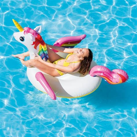 Intex Unicorn Ride On Pelung email a friend