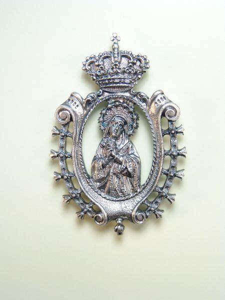 imagenes medallas catolicas medallas religiosas im 193 genes relieve quot la dolorosa 75 mm