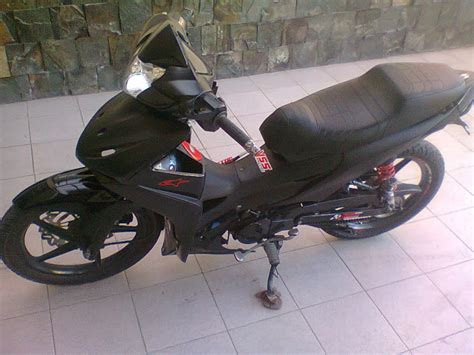 Shockbreaker Yss Honda Revo modifikasi motor absolute revo racing look black