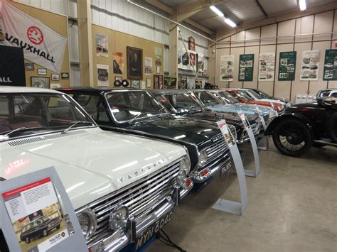 the motoring world vauxhall heritage centre opens as