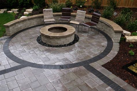 patio paver designs triyae backyard landscaping ideas with pavers