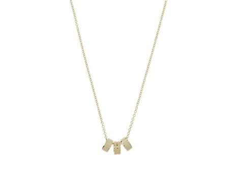 Marc Jacob Flower Necklace 2 marc by marc logo donut necklace