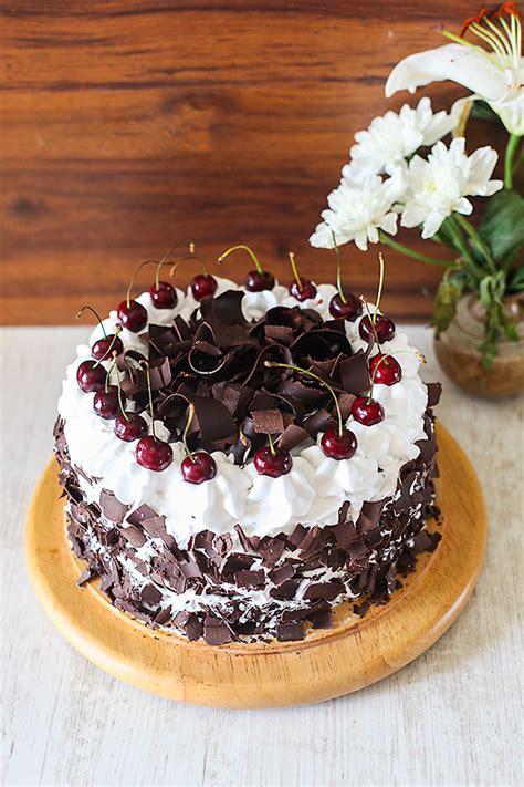 eggless black forest cake divinetaste