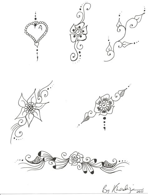 henna tattoo designs free printable printable henna patterns makedes