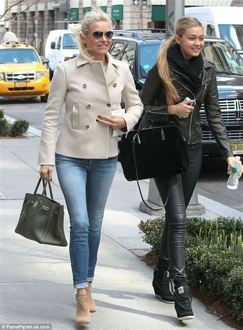 what brand of sneakers is yolanda foster wearing real housewives yolanda foster joins model daughter gigi