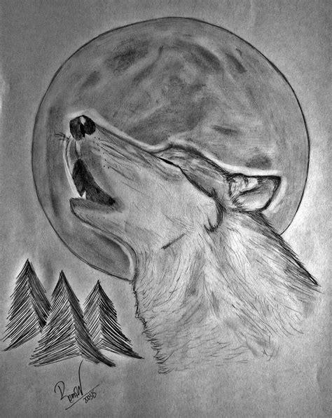 imagenes de dibujos a lapiz negro resultado de imagen para lobos aullando dibujos a lapiz