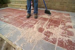 How To Paver Patio Outdoor How To Build A Paver Patio Sweeping How To Build A Paver Patio Paver Patio Designs