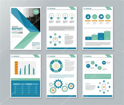 online layout company profile annual report brochure flyer page