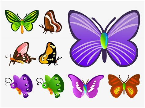 Animated Butterfly Vector Clipart Best Animated Images Of Butterfly
