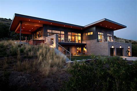 Utah Home Design Architects 5860 Slc A Modern House In Salt Lake City Homedsgn