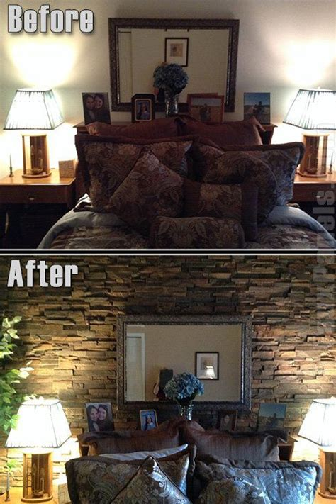 stone accent wall bedroom 37 best images about design ideas bedroom on pinterest