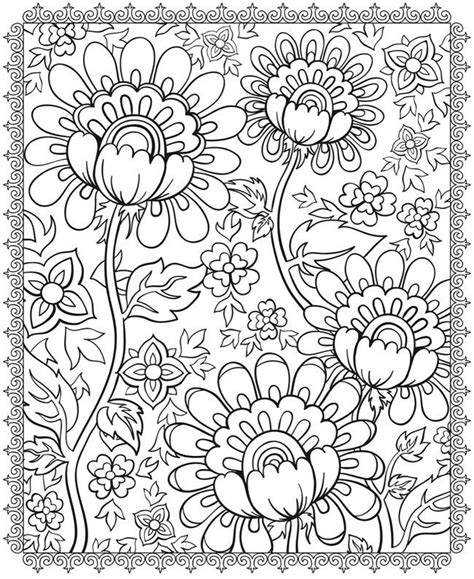 coloring pages flowers love coloring pages for all ages