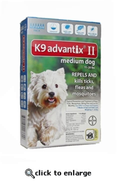 k9 advantix for dogs 11 20 lbs k9 advantix ii teal for dogs 11 20 lbs 12 pack