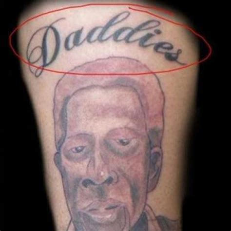horrible tattoos horrible portrait tattoos www pixshark images