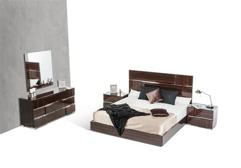 lacquer bedroom furniture picasso italian modern ebony lacquer bedroom set