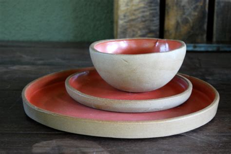 Handmade Pottery Dinnerware Sets - ceramic dinnerware set handmade dinnerware dinner by