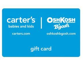 Carter S Gift Card - oshkosh carter s gift card winner mamas on a dime