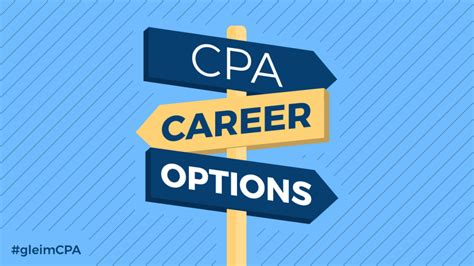 What Can I Do With A Cpa And Mba by Cpa Career Options What You Can Do With The Cpa Gleim