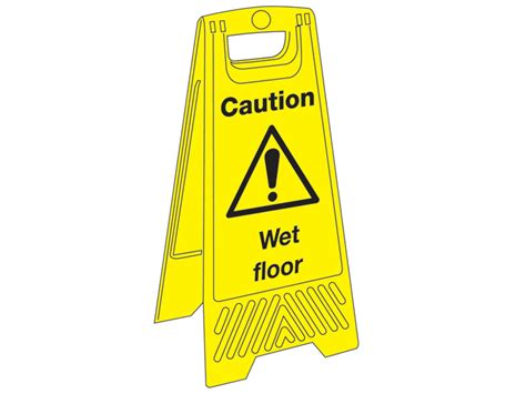 buy janitorial plastic floor signs free delivery