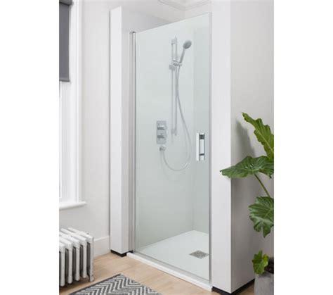 800mm Shower Door Simpsons Click Hinged Shower Door 800mm