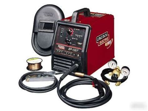 refurbished lincoln welders lincoln sp135t mig welder refurbished 120v u1873 1 ref
