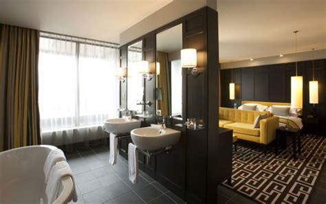 Open Concept Bedroom And Bathroom Ideas Combination Open Bedroom Design