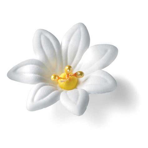 il giglio fiore giglio fiore grande decorazione zucchero 2 pezzi wfd