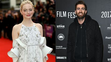 Emma Stone Dave Mccary   emma stone is in a casual relationship with snl writer