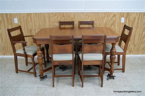 Antique Dining Room Furniture 1930 Antique C 1930 S Mahogany Dining Table Chairs