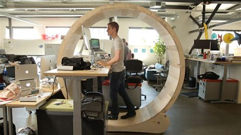 how to make your desk a standing desk how to make your wooden hamster wheel standing desk