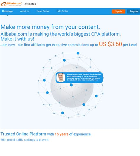 alibaba affiliate how to register with alibaba affiliate program