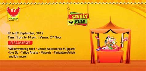 tattoo in viman nagar street fest flea market from 6 to 8 september 2013 at