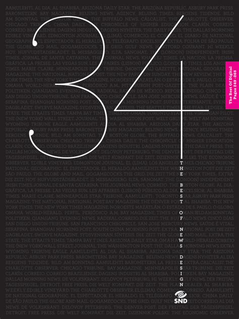 best books on design introducing the cover of the snd34 best of news design