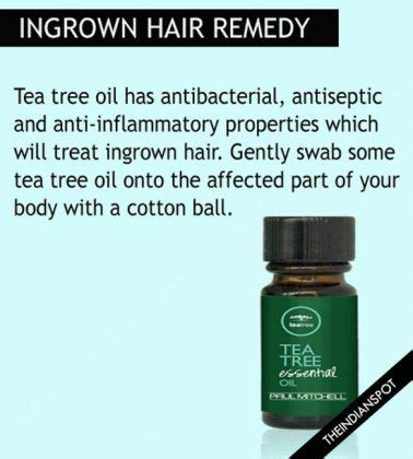 essential oil for ingrown hair home remedies for ingrown hair that really work home