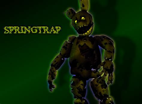 Springtrap Appeared Fnaf By Critolious On Deviantart