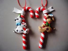 Polymer clay christmas ornament crafts for holidays family holiday