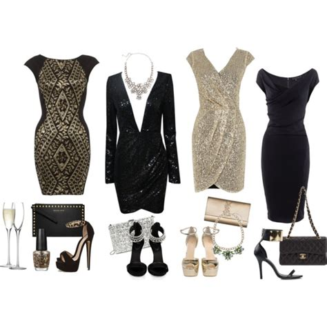 New Years Eve Cocktail Party Ideas - new years eve 1 polyvore