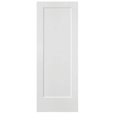 Solid Interior Doors Home Depot by Masonite 24 In X 80 In Lincoln Park Primed 1 Panel Solid