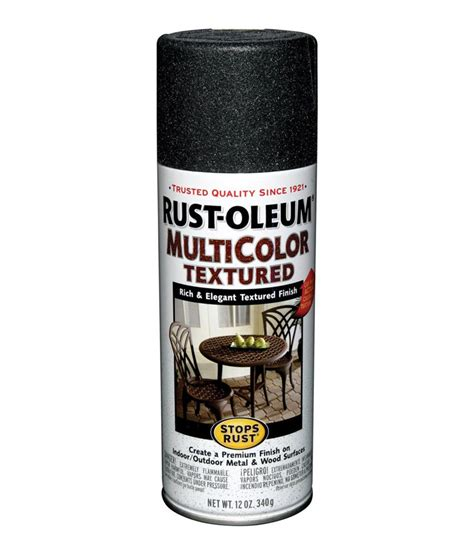 buy rust oleum stops rust multicolor textured spray paint color aged iron at low price