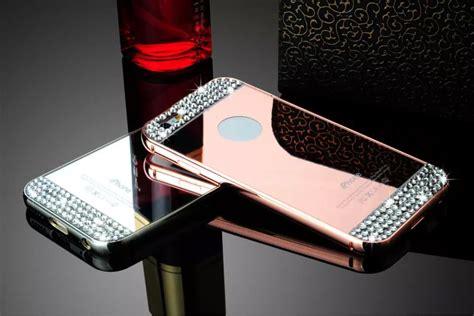 Luxury Mirror For Iphone 66s Cover Handphone Murah luxury aluminum metal slim mirror back cover