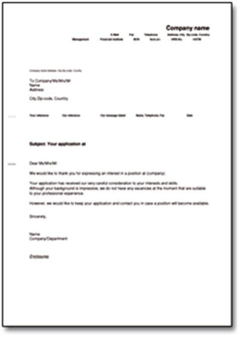 Absage Bewerbung Muster Ausbildungsplatz Beliebte Downloads Musterbriefe 187 Dokumente Vorlagen