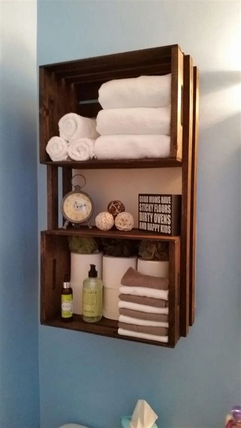 crate shelves bathroom ten genius storage ideas for the bathroom 81 stains diy