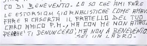 lettere anonime lettere anonime per diffamare il magistrato antonio