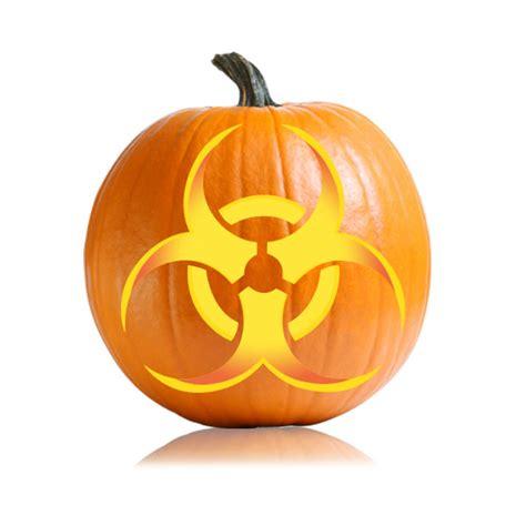 pumpkin patterns biohazard pumpkin carving pattern ultimate pumpkin stencils
