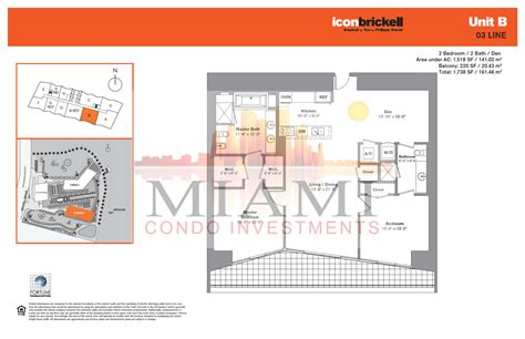 Icon Condo Floor Plan by Icon Brickell Floor Plans Floor Matttroy