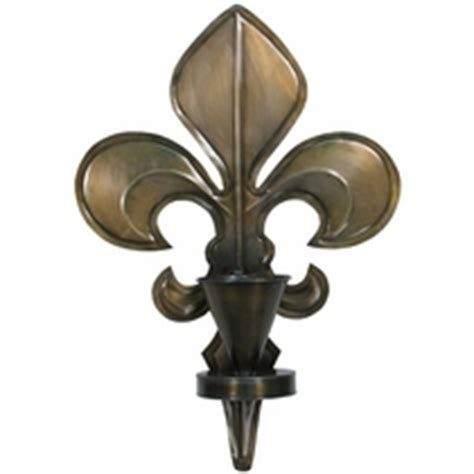 Fleur De Lis Wall Sconce Rustic Wall Candle Sconces And Wall Candleholders From Mexico